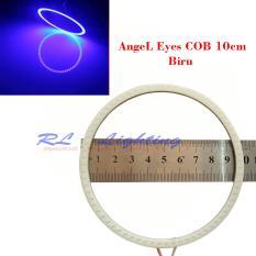 Spesifikasi 1Bh Led Angel Eyes Cob Ukuran 10Cm Cover Biru Led Terbaru