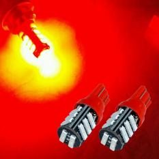 2 Biji Lampu Led Motor Mobil T10 Senja Sein Sen 11 Titik 7020 Super Bright Arsystore ARSY - Merah