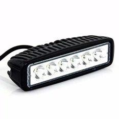 Led Bar Cree Worklight Flood 18watt Lampu Tembak Kabut Sorot 6 Mata Sisi Offroad Drl Work Light LED Mobil Motor