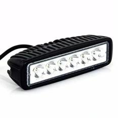 Led Bar Cree Worklight Flood 18watt Lampu Tembak Kabut Sorot 6 Mata Sisi Offroad Drl Work Light LED Mobil Motor