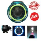 Beli Led Cree U11 Angel Eyes Transformer Motor Mobil Universal Blue Green Online Murah