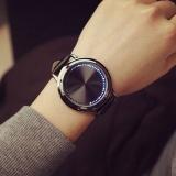 Katalog Led Digital Watches Touch Screen Leather Band Couple Sport Wrist Watch Black Intl Oem Terbaru