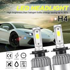 Review Tentang Led Headlight Kit H4 252 W 25200Lm Lampu Daya 6500 K Putih Headlamp Low Berseri Seri Internasional