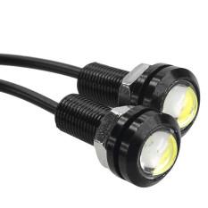 Spesifikasi Led Lamp Car Styling Diy 9W 500 Lumen Waterproof Eagle Eye Lampu Mobil Red Beserta Harganya