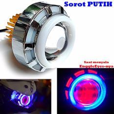 LED Lampu Projector / LED Proji Light Angel Eye+Devil Eye / Lampu Proji LP6