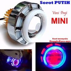 Harga Led Lampu Projector Mini Led Proji Light Angel Eye Devil Eye Lampu Proji Model U28 Mini Terbaru