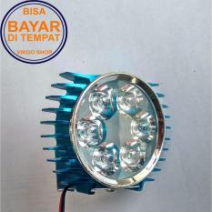 LED Lampu Sorot Tembak Luxeon 6 Mata Slim - Biru