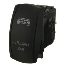Spesifikasi Led Light Bar On Off Kit Rangkaian Kabel Saklar Rocker 40A Relay Untuk Atv Jeep Intl Lengkap