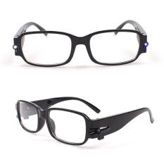 Lampu LED Kacamata Baca Kacamata Kacamata Night Vision Kacamata dengan Lampu-Intl