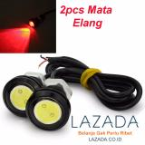 Beli 2Bh Led Mata Elang Eagle Eyes Besar Merah Murah North Sumatra