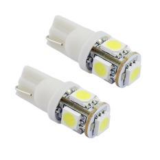 Beli Led Racing 10 Mata T10 Untuk Lampu Motor Mobil 2 Pcs Putih Led Online