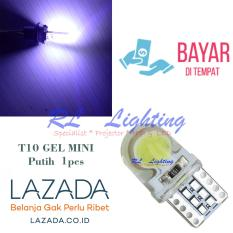 1bh Led T10 Gel Waterproof COB Mini Super Bright - Putih