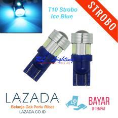 Rl Lighting Led T10 Strobo Senja 6led Gel Jelly Silicone Super Bright 1pcs . Source · LED T10 Strobo Lensa 6Led - Ice Blue.