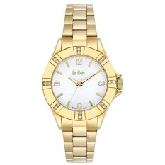 Lee Cooper Moment Watch -   Lc-51L-D - Jam Tangan Wanita - Stainlles Steel - Gold