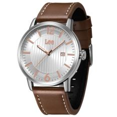 Lee Watch Jam Tangan Lee Metropolitan Gents Kulit Cokelat M09BSL5-7R