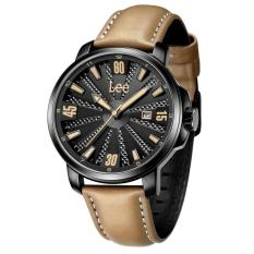 Lee Watch Jam Tangan Lee Metropolitan Gents Kulit Cokelat M29BBL5-15