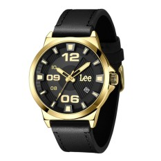 Lee Watch M129AGL1-1G Jam Tangan Pria Lee Metropolitan Gents Denim Hitam