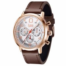 Lee Watch M126ARL5-7R Jam Tangan Pria Metropolitan Gents Kulit Cokelat