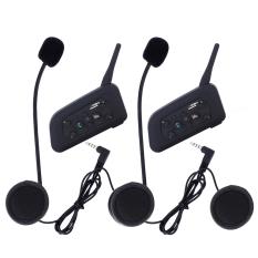 Beli Leegoal Kemudi Sepeda Bermotor Bluetooth 3 1200 M With Headset And Interkom Interfon Motor Steker Inggris 2 Pak International Pake Kartu Kredit