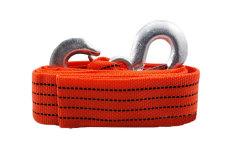 Jual Leegoal 4 M 3 Ton Mobil Tow Cable Towing Strap Rope Dengan Kait Baru