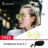 Beli Leegoal Wanita Kacamata Hitam Sunscreen Anti Uv Warna Film Kacamata Busana Emas Intl Leegoal Dengan Harga Terjangkau