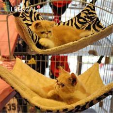 Leegoal Kandang Kucing Kitty Mewah Tempat Tidur Gantung Hanging Bed Pet-Garis Pola Zebra By Leegoal.