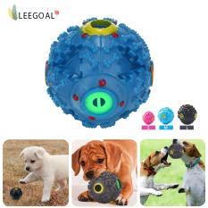 Leegoal Pet Dog Squeaky Ball Terbuat Dari Plastik Melatih Anjing Iq Dengan Makanan Dispenser Slim Untuk Anjing Dan Cat M Diskon Tiongkok