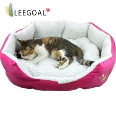 Spek Leegoal Pet Nyaman Tempat Tidur Dengan Bantalan Yang Dapat Dilepas L Mawar