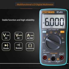 Harga Leegoal Richmeters Rm101 True Rms Multifungsi Lcd Digital Multimeter Dmm Dc Tegangan Ac Current Meter Perlawanan Dioda Kapasitansi Tester Pengukuran Otomatis Polaritas Identifikasi Ammeter Voltmeter Ohm Satu Set