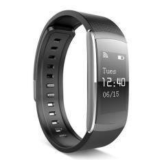Toko Leegoal Smart Gelang Kebugaran Tracker Detak Jantung Monitor Ip67 Tahan Air Bluetooth Smart Band Bracelet Tahan Air Untuk Android Ios Lengkap