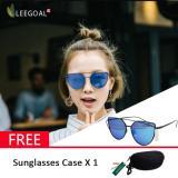 Spek Leegoal Wanita Kacamata Hitam Sunscreen Anti Uv Warna Film Kacamata Busana Hitam And Biru
