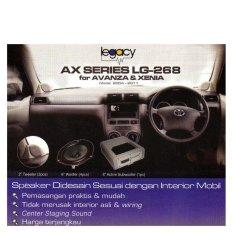 Legacy LG-268 Avanza Xenia 2004 - 2011 Series Sound System + Gratis Pemasangan Khusus Kota Surabaya