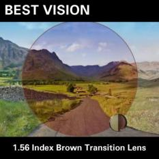 Lensa Kacamata Photochromic Brown Transition - M1z9my