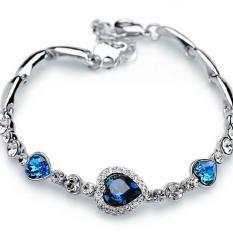 Beli Leyi Topi Baseball Kap Nn Han Edisi Heart Of The Ocean Fashion Crystal Gelang Intl Oem Dengan Harga Terjangkau