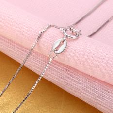 Cinta Adalah Masih Mencintai Thai Perak Asesoris 925 Sterling Silver Kalung Klavikula Rantai Kotak Penerima