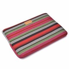 Lightning Power-15 Inch Bohemian Style Canvas Fabric Sleeve Case with Anti Shock cotton Shock Resistant Padding notebook bag for 15.6 Inch Notebook(Multicolor)