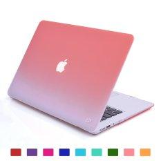 Review Lightning Power Fade To Putih Matte Membawa Hard Shell Case Untuk Macbook Air 13 3 A1466 A1369 Pink Oem Di Tiongkok