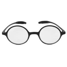 Ringan TR90 Round Kacamata Baca Getah Presbyopia Kacamata + 1.0-Internasional