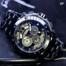 Daftar Harga Limited Edition Swiss Army Sa1000 Chrono Jam Tangan Pria Stainless Steel Strap Black Swiss Army