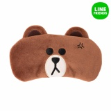 Spesifikasi Line Friends Karakter Sleep Eye Mask Brown Intl Lengkap