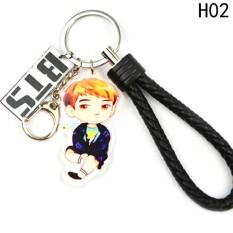 Linfang Bintang Kpop BTS Karakter Gantungan Kunci Bangtan Gantungan Kunci Anak Laki-laki H02-