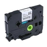 Jual Cepat Linxing Laminated Label Tape Kompatibel Untuk Tze 231 Tz 231 Hitam Putih 12Mm 8 M 47 26 2Ft Intl