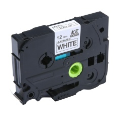 Jual Linxing Laminated Label Tape Kompatibel Untuk Tze 231 Tz 231 Hitam Putih 12Mm 8 M 47 26 2Ft Intl Di Bawah Harga