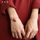 Liyuanju Pembukaan Natal Merah Tali Gelang Oem Diskon 30