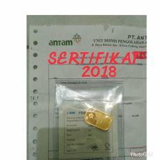 Lm Emas Batangan Antam 10 Gram Sertifikat 2018 Original