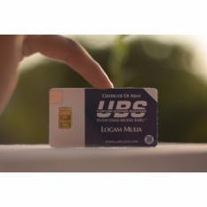 Logam Mulia LM Sertifikat Asli UBS 1 Gram - Emas Batangan Gold - 24 Karat Sertifikat Resmi UBS
