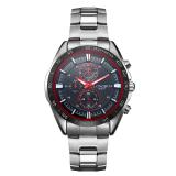 Promo Longbo Merek Stainless Steel Olahraga Gaya Bisnis Analog Quartz Watches Tahan Air Wrist Mens Watches 80007 Intl Longbo Terbaru