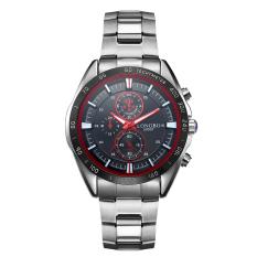 Promo Longbo Merek Stainless Steel Olahraga Gaya Bisnis Analog Quartz Watches Tahan Air Wrist Mens Watches 80007 Intl Murah