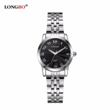 Harga Longbo Brand Unisex Stainless Steel Watchband Business Watch Analog Quartz Wristwatch Mens Wrist Watch Ladies Watches 80015 Intl Baru
