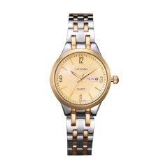Longbo Casual Stainless Steel Couple Quartz Watches Lovers Wristwatch With Date Calendar Waterproof 80084 Diskon Akhir Tahun